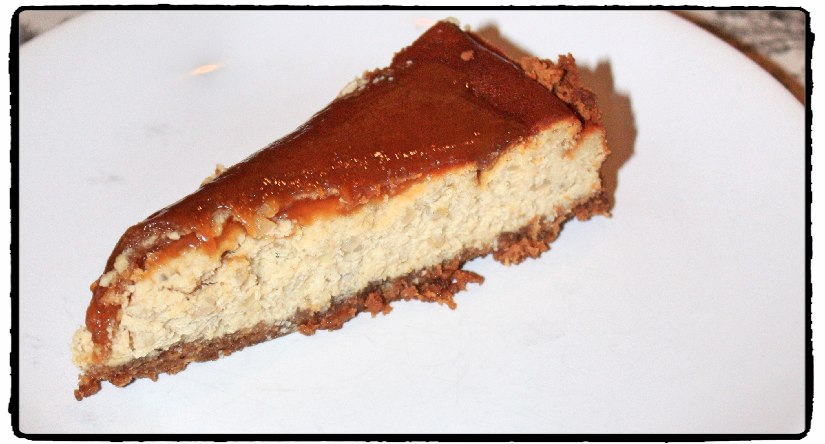 Thai coconut pudding cheesecake with mango caramel topping ...